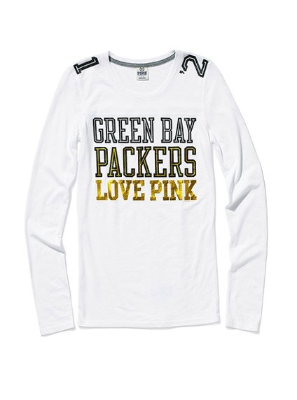 Green Bay Packers Love Pink