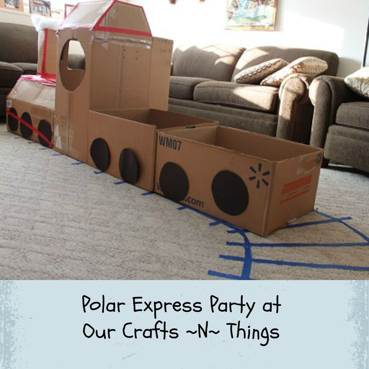 Polar Express Party, fun for a winter time sleepover or even pj party playdate!!