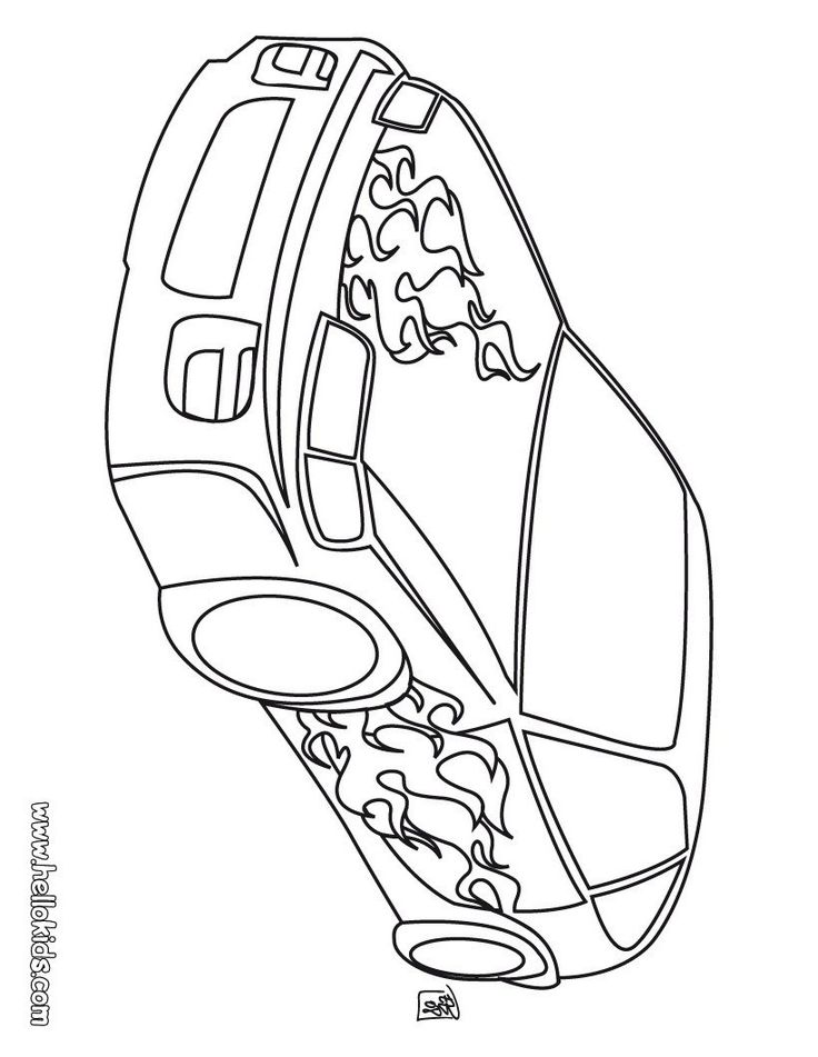pinkäthi on malvorlagen  cars coloring pages race