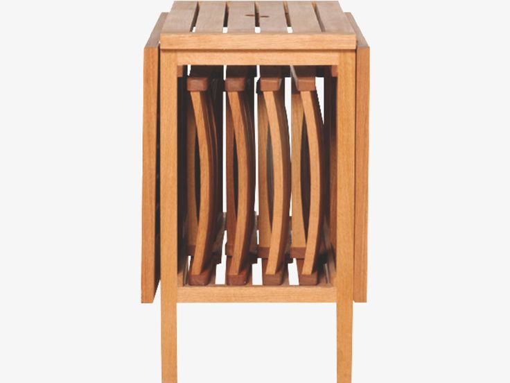 Garden Table And Chairs Part - 47: ZENO NATURAL Oak Oak Garden Table And 4 Chairs Set - HabitatUK 295 Euro