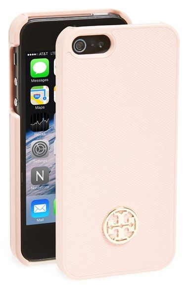 Tory Burch 'Robinson' iPhone 5 & 5s Case available at #Nordstrom