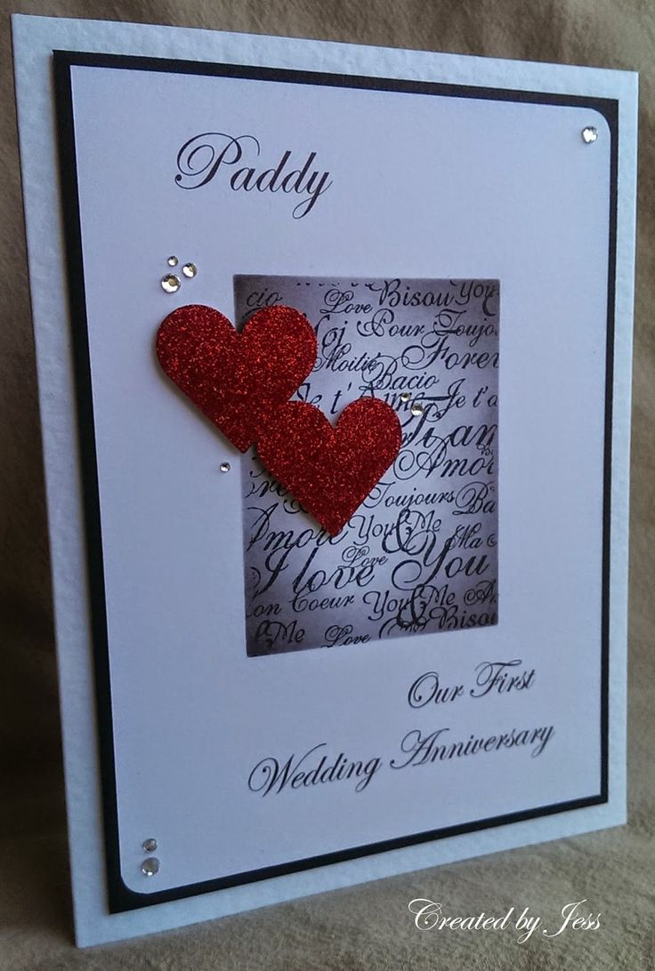 The 85 best Wedding Anniversary card images on Pinterest | Card ...