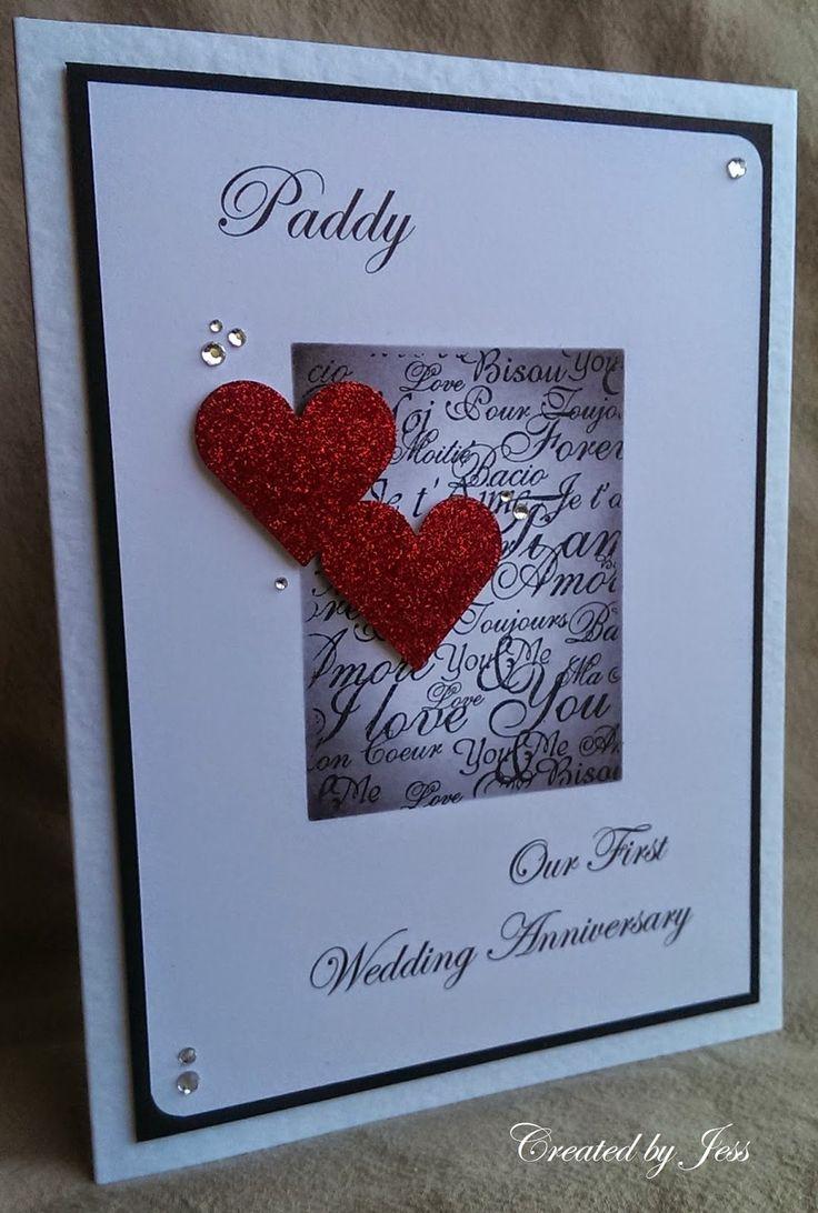 Homemade Anniversary Ideas For Husband: 1000+ Ideas About Anniversary Cards For Husband On