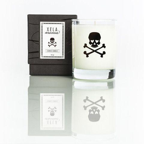 Skull - Vanilla Tabac 14oz Jar – XELA AROMA