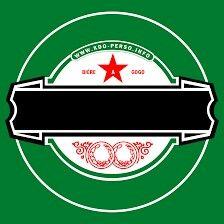 Festa tema Heineken . O símbolo para editar.
