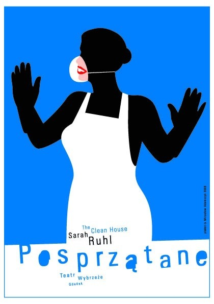 The Clean House Posprzatane Adamczyk Miroslaw Polish Poster