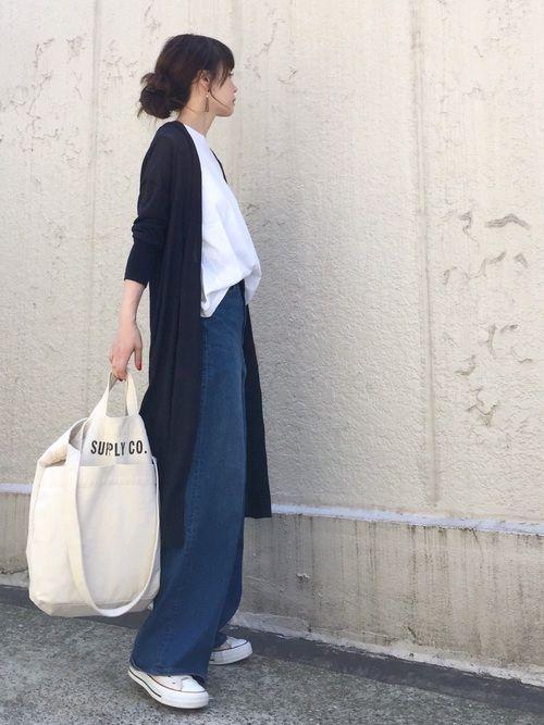 UNIQLOのデニムパンツを使ったari☆のコーディネートです。WEARはモデル・俳優・ショップスタッフなどの着こなしをチェックできるファッションコーディネートサイトです。