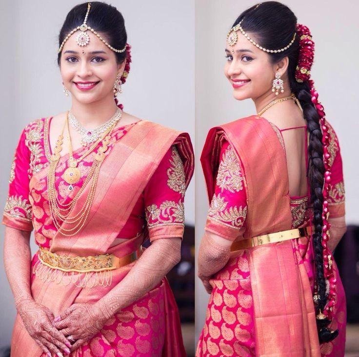 South Indian Bridal Makeup Pictures #SouthIndianBridalMakeup #BridalMakeup