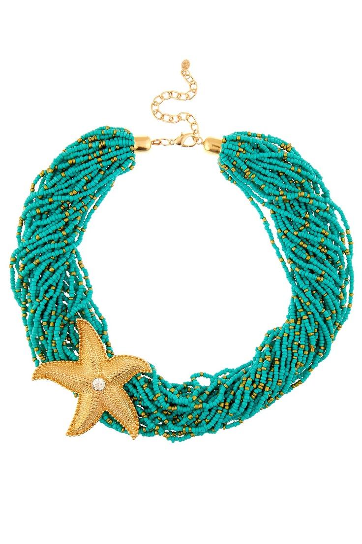 Bright & Beachy Starfish Necklace