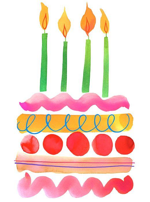 Feliz Cumpleaños - pastel