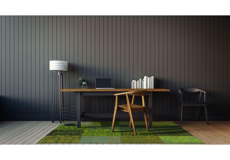 Dywany Patchwork :: Dywan naturalny vintage patchwork 8106 SpringLeaves - zielony - Carpets&More - wysokiej klasy dywany i akcesoria tekstylne