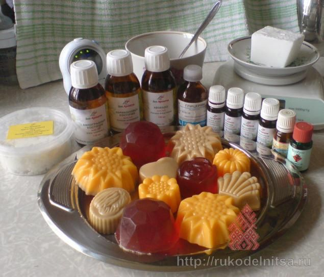 Мастер-класс по приготовлению мыла из мыльной основы - Ярмарка Мастеров - ручная работа, handmade