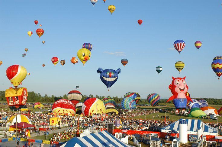 International de montgolfières de Saint Jean sur Richelieu  Québec