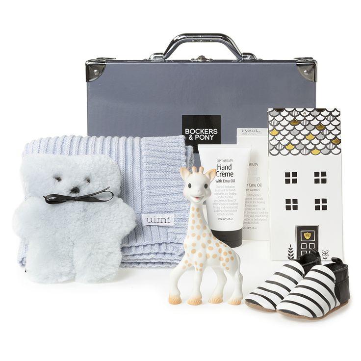 Opulent Baby Boy Luxury Hamper | Luxury Baby Gift Hampers - Bockers and Pony