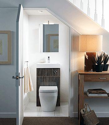 17 melhores ideias sobre banheiro sob escadas no pinterest ...