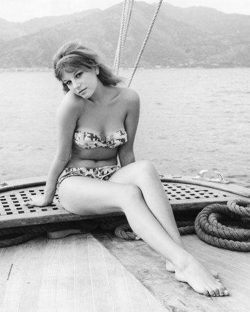 Divorce, Italian Style (Italian: Divorzio all'italiana) is a 1961 Italian comedy film directed by Pietro Germi. It starred the Italian beauty Stefania Sandrelli. Just watch her walk in the film. Sensual.