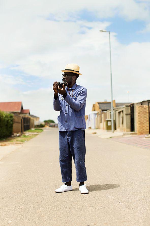 The Sartorialist in Soweto.