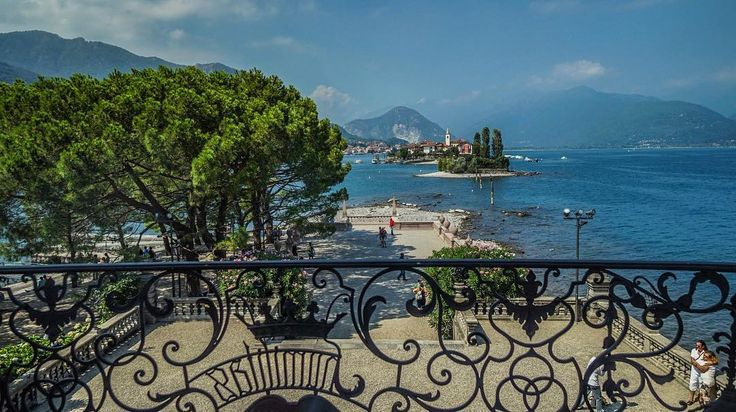 All that driving made us hungry  So we decided to go for lunch to #Italy!   And ended up in Stresa  #LagoMaggiore  [ Location: Palazzo Borromeo ] #BurnTheBucketlist  Follow us on Instagram @burn_the_bucketlist
