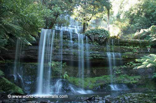 Russell Falls  Mt Field National Park, Tasmania, Australia