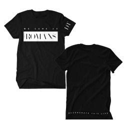 Flatline Black T-Shirt