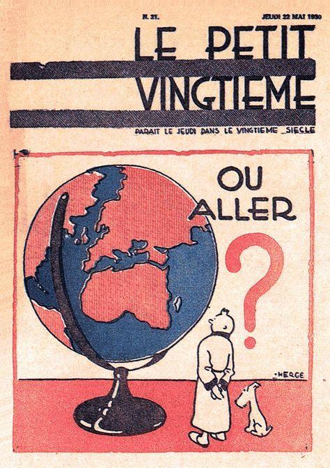 "Où aller ? - Juste avant ""Tintin au Congo"""