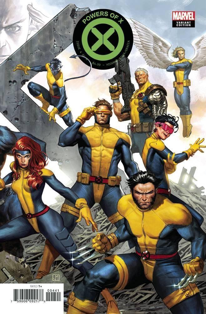 Powers Of X 4 Variant Cover By Jorge Molina Marvel Comics Marvel Comics Art Marvel