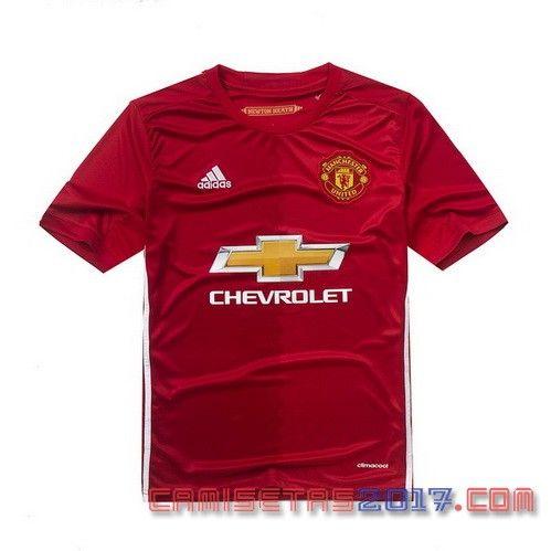 Camiseta Manchester United 2016 2017 primera
