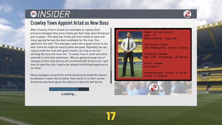 Guys if you love FIFA 17 Career Mode check out my series on YouTube: Youth Squad Heroes with Crawley Town. New Episodes each week!!  https://youtu.be/x_ofR0-zuxM  #FIFA17CAREERMODE #FIFA17YOUTHACADEMY #FIFA17ROADTOGLORY #FIFA17 #CRAWLEYTOWN #YOUTHSQUADLEGENDS #YOUTHSQUADHEROES #FIFA17YOUNGPLAYERS #FIFA17LEAGUE2 #FIFA17SERIES #FIFA17PS4 #FIFA17GAMEPLAY #ARLAD #TWITTER  https://twitter.com/Superiorraw