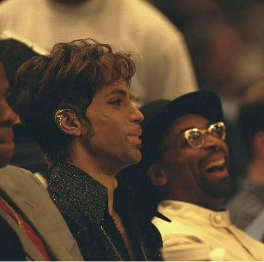 Prince and Spike Lee