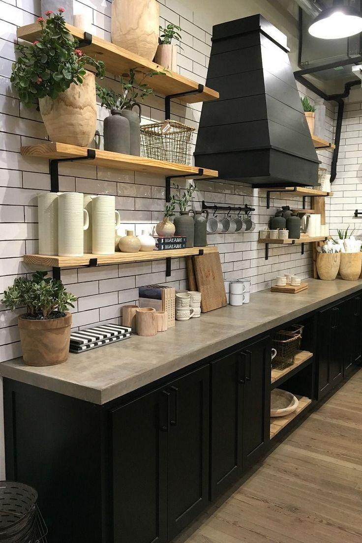 Magnolia Market Countertop Cabinetry Kitchen Cabinet Room