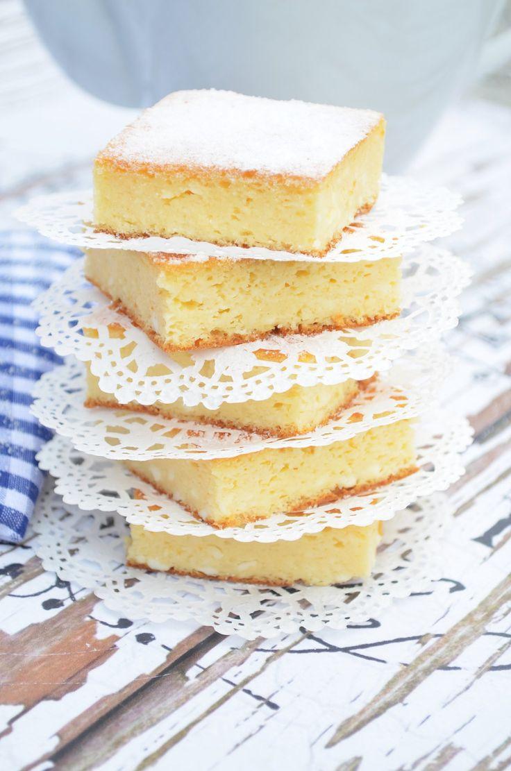Habkönnyű, nagyon túrós, túrós süti...