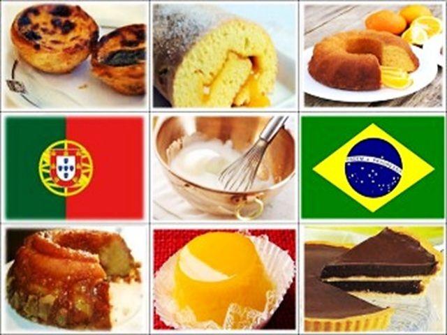 Equivalência de Termos de Cozinha – Portugal e Brasil | Doces Regionais