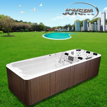 Promotion price large swim spa pool,outdoor swim spa pool,acrylic spa pool