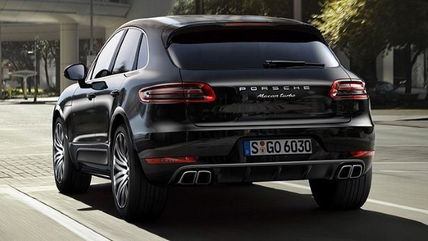 Porsche Macan Turbo 2014