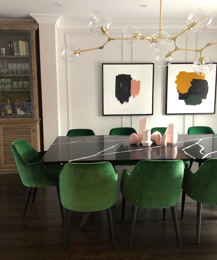 100 Dining Room Ideas Decor In 2021 Green Dining Room Dining Chair Design Minimalist Dining Room Dining room design ideas 2021