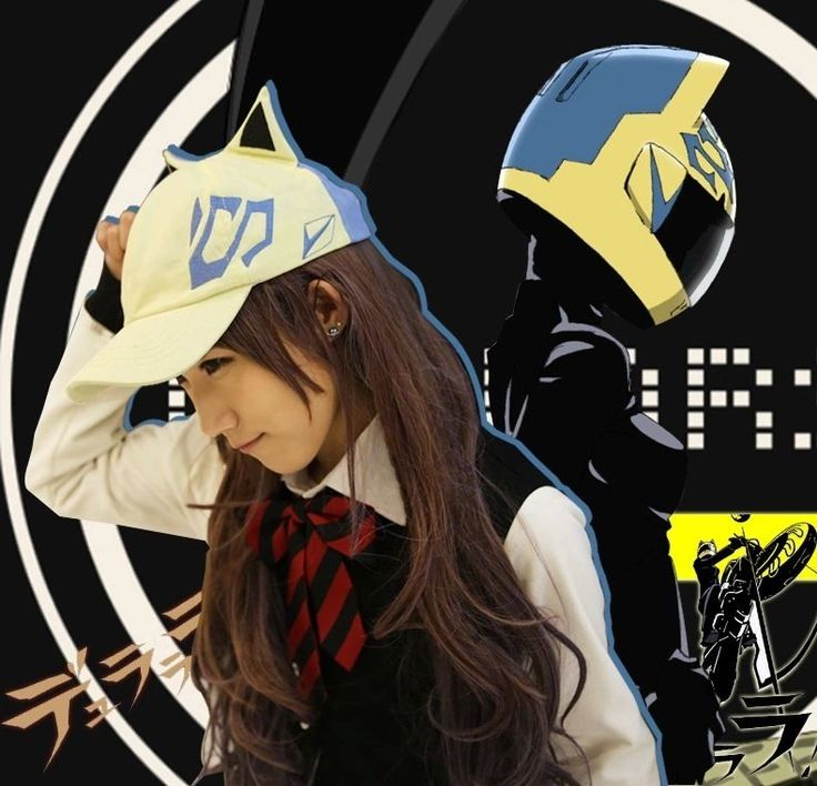 Japan anime durarara drrr cosplay celty sturluson cute