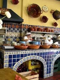 Resultado de imagen para diseño interiores cocinas mexicanas coloniales