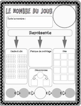 Here is a great worksheet you can use to practice working with numbers. It's also great to use this as bell work in the morning while you are counting the days to 100!