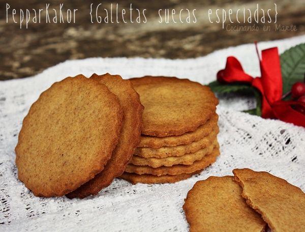 Con este frío apetece hornear dulces para la merienda, acompañando al té o a un café con leche bien caliente. Este tipo de galletas navideñ...