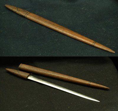 Hairstick with hidden dagger by Hel-kala