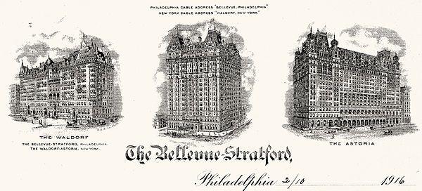 The Bellevue-Stratford Hotel
