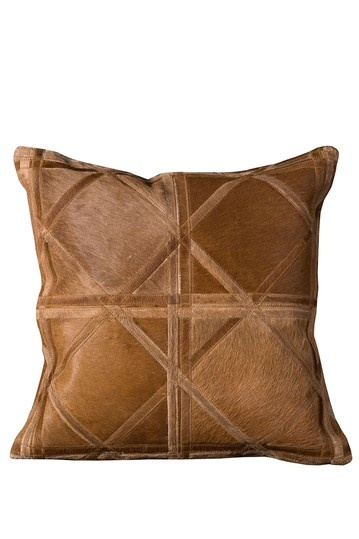 Natural Leather pillow