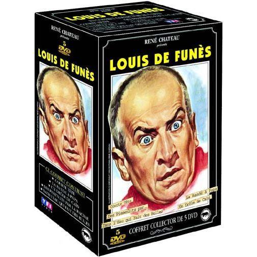 DVD Coffret Louis De Funes : dans l'eau qui fai... en DVD FILM pas cher - Cadeaux de Noël Cdiscount
