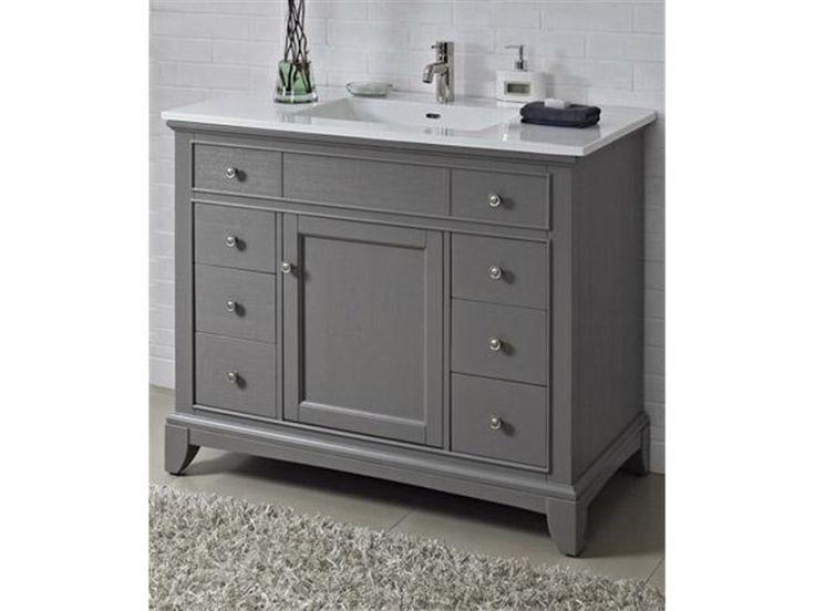Granite Tops 42 Inch Bathroom Vanity And Bathroom Vanities On Pinterest