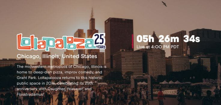 Cant make Lollapalooza this weekend? Stream it
