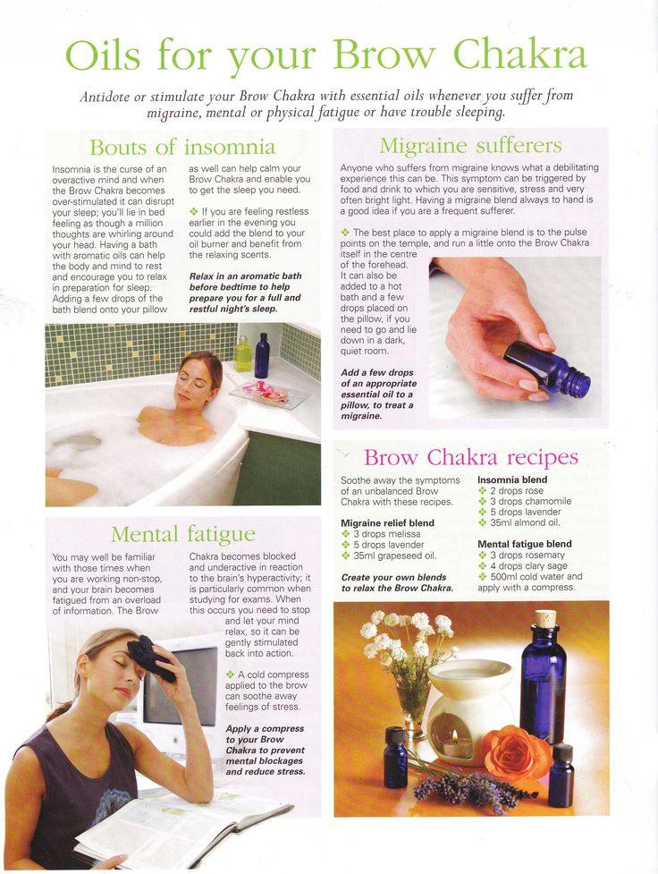 Young Living Essential Oils: Brow chakra  www.fb.com/HealingLotusAromatherapy