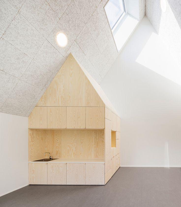 An Element Inside The Frederiksvej Kindergarten Designed By Architects COBE Copenhagen InteriorKindergarten DesignKids
