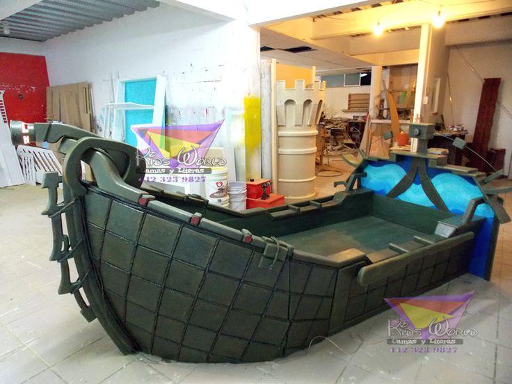 M s de 25 ideas incre bles sobre cama barco pirata en - Cama barco pirata ...