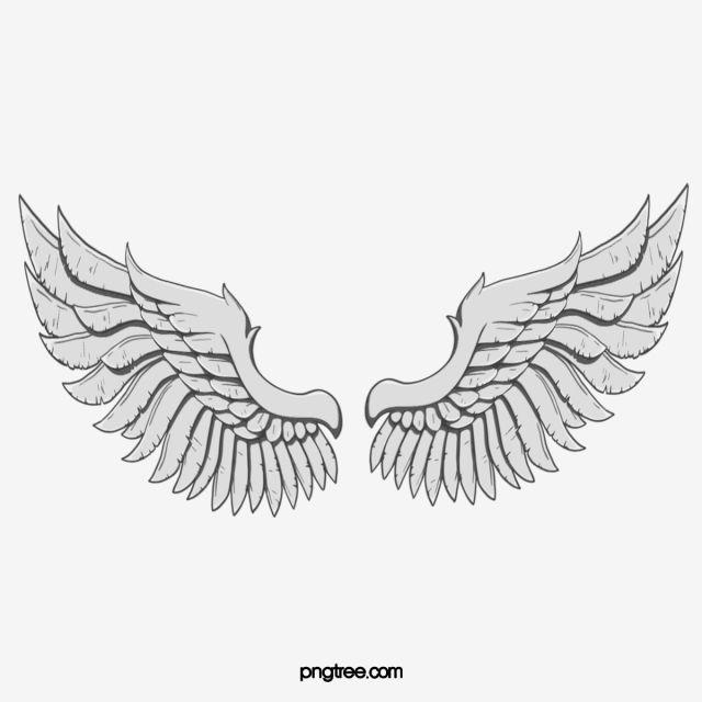 Angel Wings Drawings How To Draw Cartoon Wings Step 9 Cartoon Wings Cartoon Angel Wings Angel Wings Clip Art