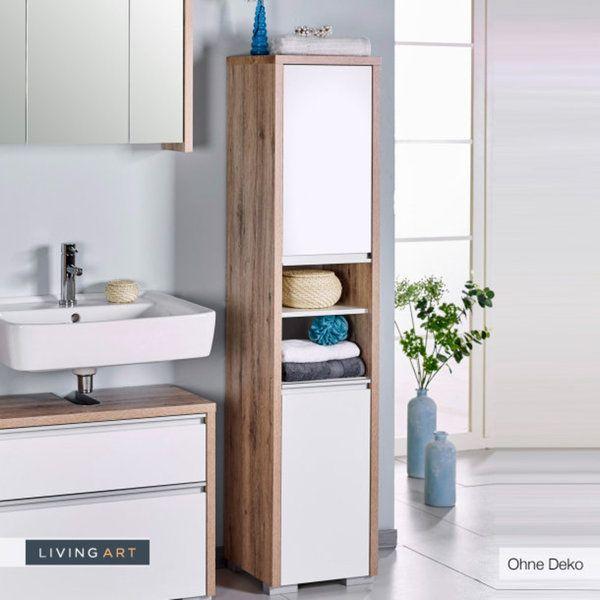 badezimmer unterschrank living art slagerijstok. Black Bedroom Furniture Sets. Home Design Ideas